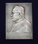 Medal issued to commemorate Louis Pasteur's 70th birthday, 1892.
