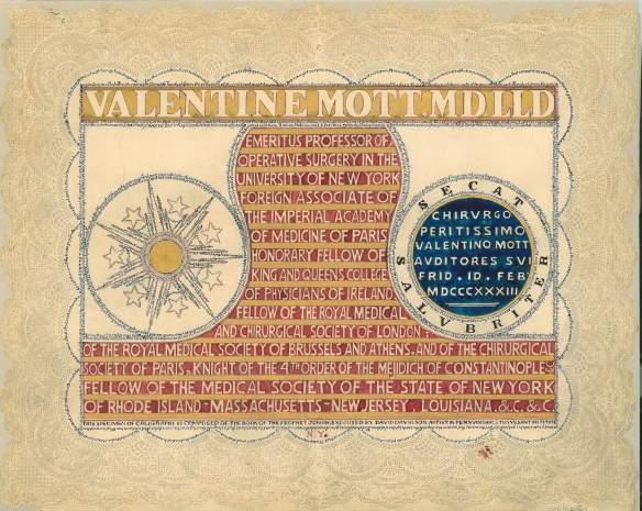Micrography valentine for Valentine Mott