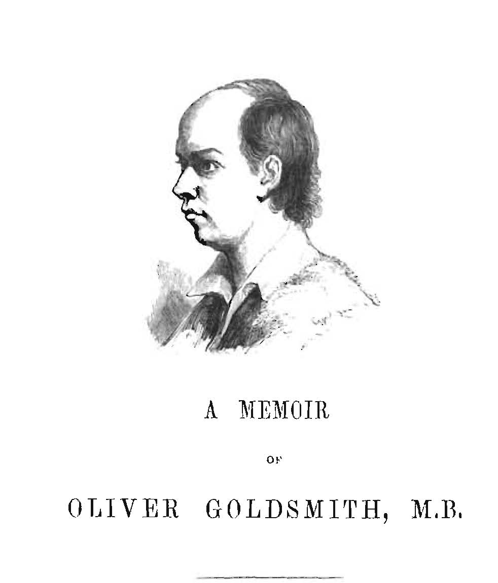 oliver goldsmith believed that one can never be too rich