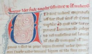 f. 77ra, opening of Trotula