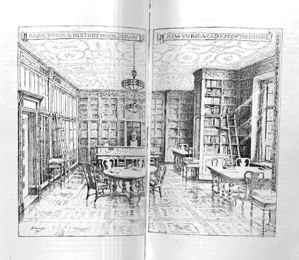 Rare Book Room by Dr. Robert Latou Dickinson.