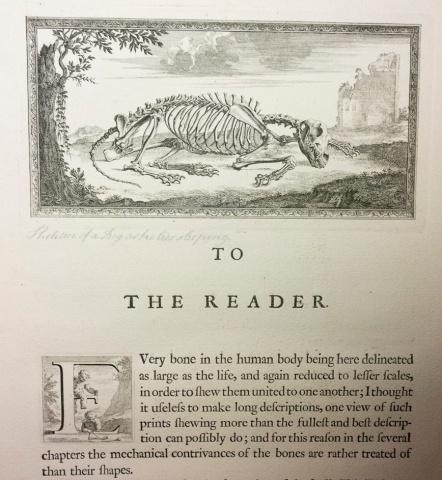 William Cheselden's Memento Mori and Skeletons at Prayer