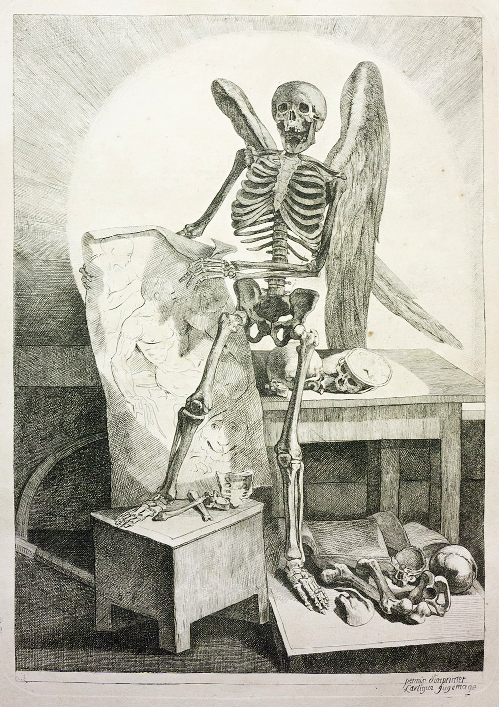 Jacques Gamelin\'s Marauding Skeletons and Écorché Crucifixions ...
