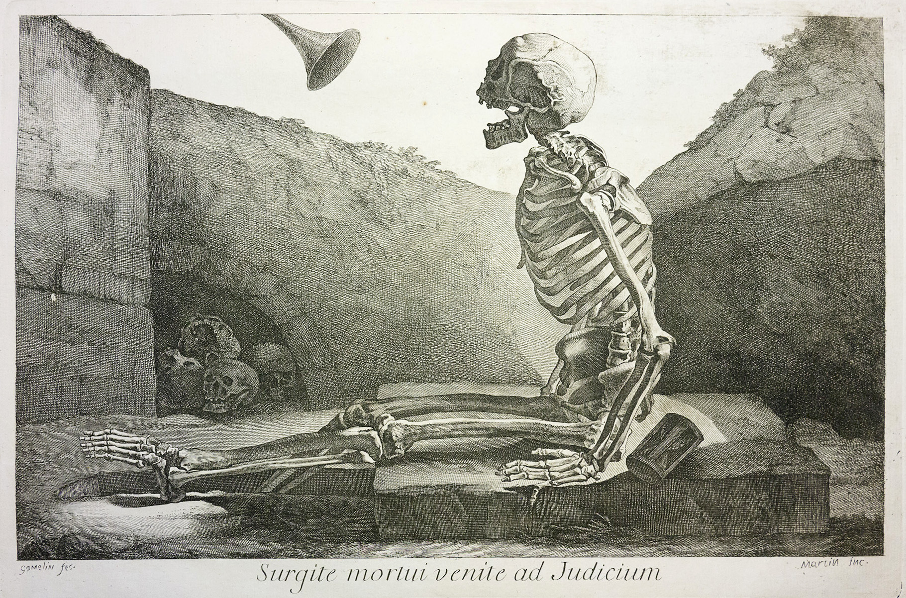 Jacques Gamelin's Marauding Skeletons and Écorché ...