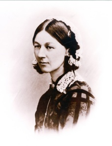 Florence Nightingale. Reproduced by courtesy of the Florence Nightingale Museum.