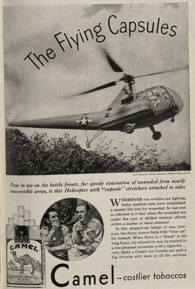 """The Flying Capsules."" Published in Medical Woman's Journal, volume 52, number 6, June 1945. Click to enlarge."