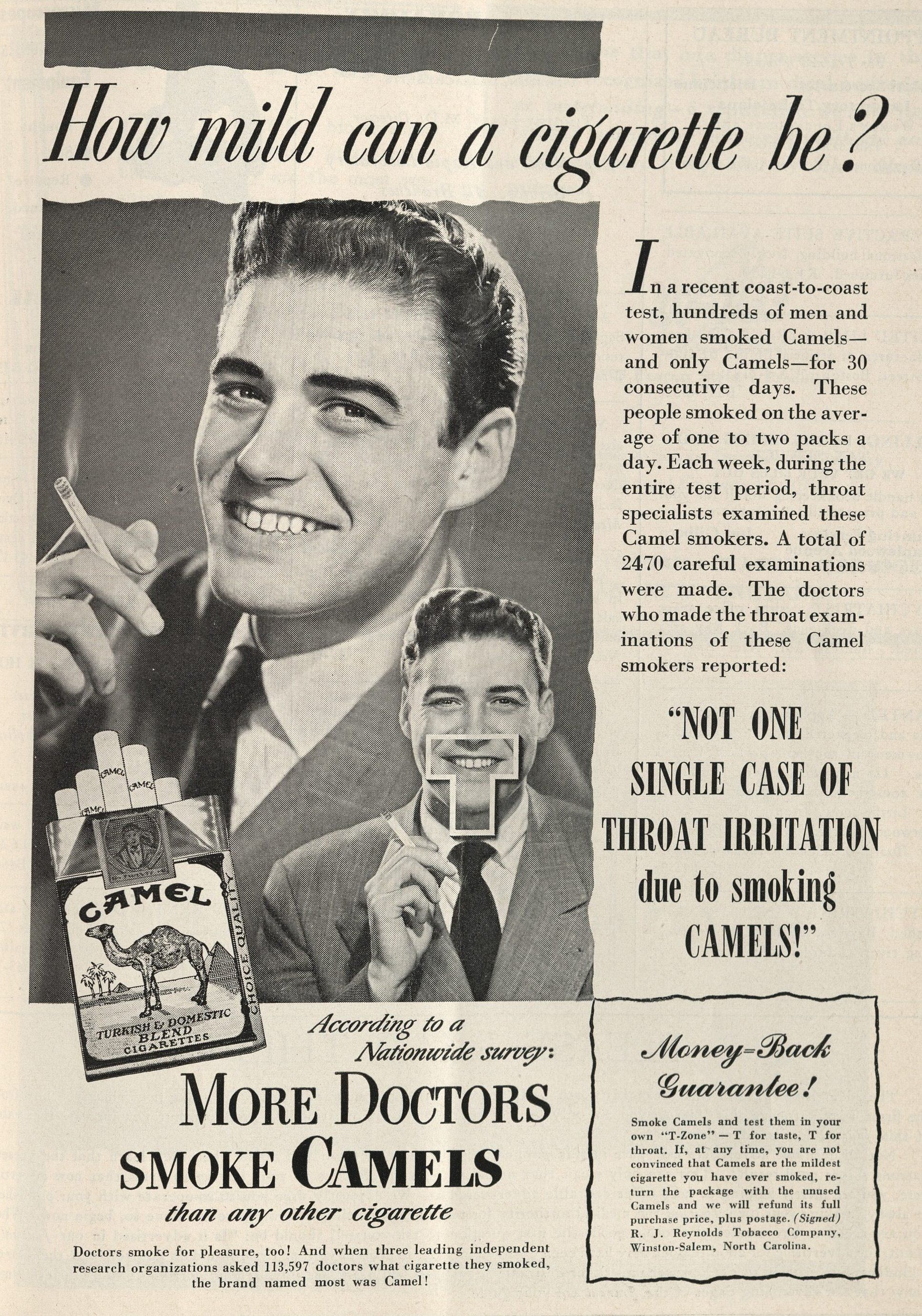 More Doctors Smoke Camels | Books, Health and History