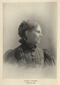 Clare Barton. From The Red Cross in Peace and War, 1899.