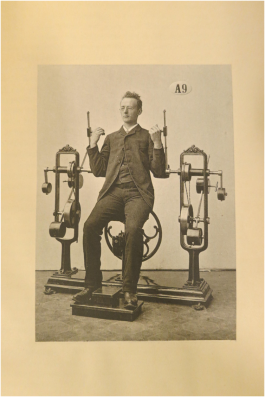 From the book Medico-Mechanical Gymnastics by Gustaf Zander, 1892