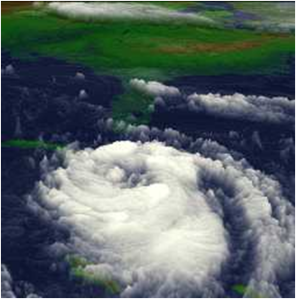 Hurricane Georges, Gulf Coast, Sept. 28, 1998. From NASA's Mesoscale Atmospheric Processes Branch.3