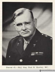 Photograph in: Armfield BB. Organization and Administration in World War II. Washington, D.C.: Office of the Surgeon General. Department of the Army; 1963.