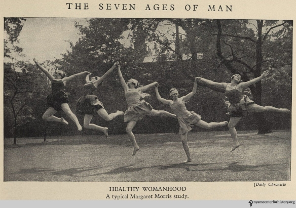 """Healthy womanhood."" From The Golden Health Library. Click to enlarge."