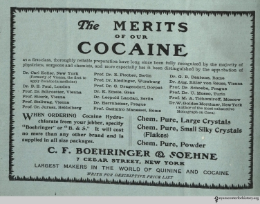 Ad published in The Practical Druggist and Review of Reviews, volume 22, number 2, August 1907. Click to enlarge.