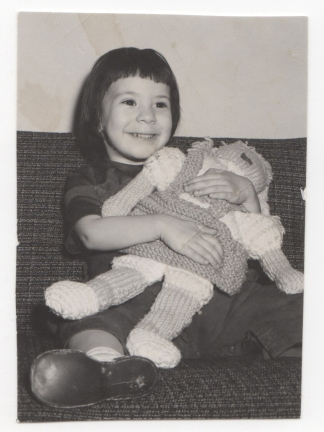 Riva Lehrer as a young child. Photo courtesy of Riva Lehrer.