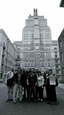 The 2010 Comics & Medicine gathering before Senate House.