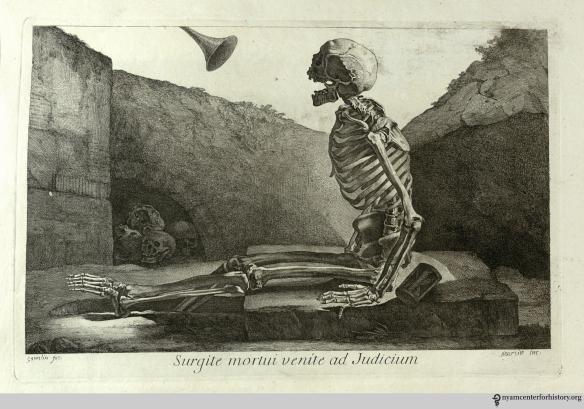 Surgite mortui, et venite ad judicium (Arise, ye dead, and come to the judgment). Table 6. Click to enlarge.