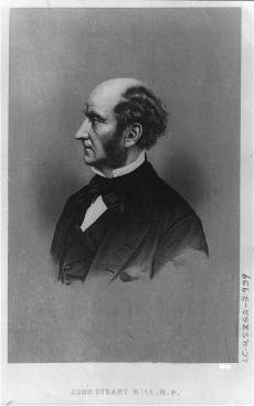 John Stuart Mill. Library of Congress Prints and Photographs Division. http://www.loc.gov/pictures/item/2004672081/