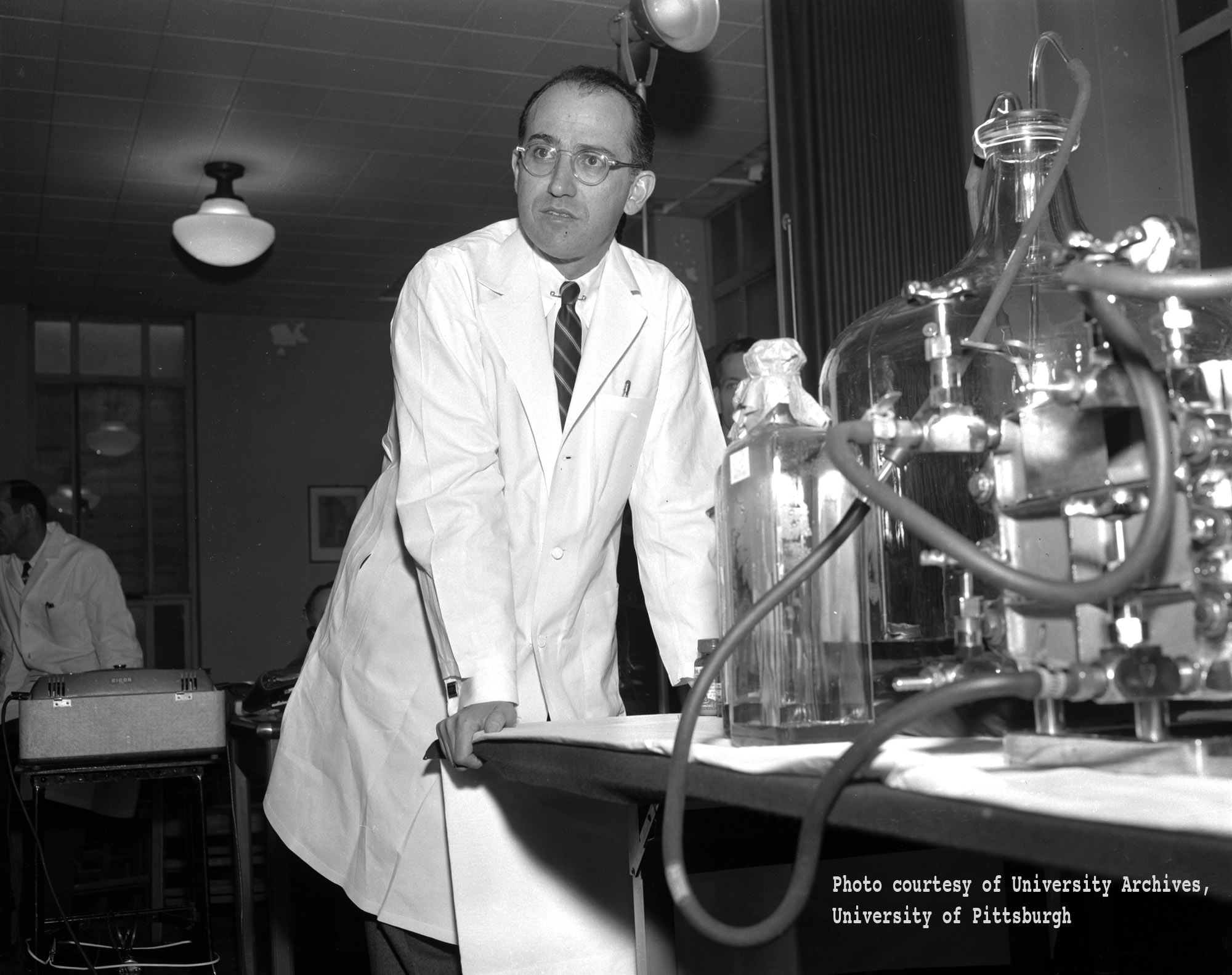 a biography jonas salk the man who invented the vaccine against the polio virus The film profiles dr hilary koprowski, an american scientist racing dr albert sabin and dr jonas salk to create the polio vaccine, primarily in the 1950s koprowski tested his oral vaccine.