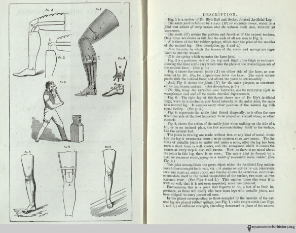 "Pages one and two of Douglas Bly's ""A new and important invention,"" 1862."
