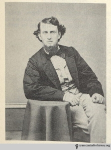 Edward Miner Gallaudet, 1864, in Maxine Tull Boatner, Voice of the Deaf: A Biography of Edward Miner Gallaudet (Washington, D.C.: Public Affairs Press, 1959), opposite page 3.