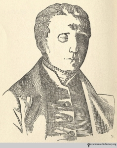 """Louis Braille,"" in J. Alvin Kugelmass, Louis Braille: Windows for the Blind. Frontispiece by Edgard Cirlin."
