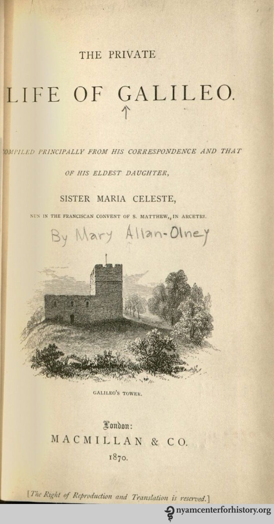 Allan-Olney_PrivateLifeOfGalileo_1870_watermark