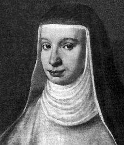 Galileo's daughter, Suor Maria Celeste (1600–1634), via the University of Maryland.