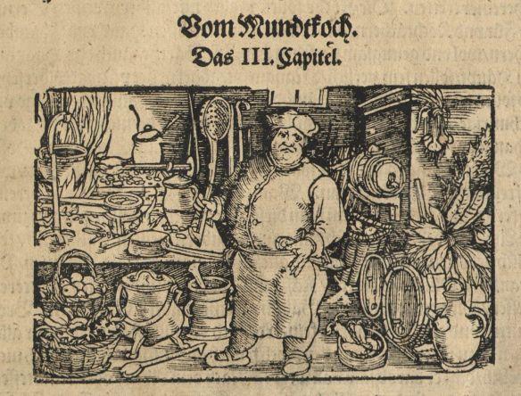 Marx Rumpolt, Ein new Kochbuch, 1581.