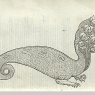 An excellent artificial seven-headed hydra, from the treasury of Venice, page 388.