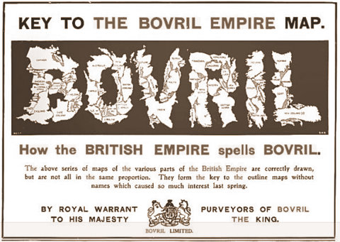 Bovril advertisement in The Illustrated London News, February 2, 1902. Courtesy of Rachel Laudan.