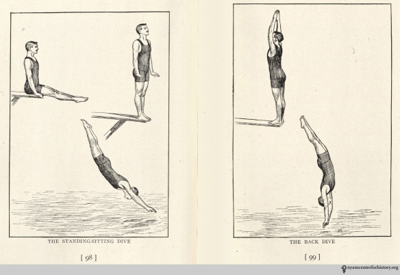 Dives. In Dalton, Swimming Scientifically Taught, 1918, pp. 98-99.