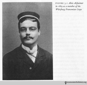 Alois Alzheimer in 1884. In Maurer, Maurer, and Levi, Alzheimer: The Life of a Physician and the Career of a Disease, 2003.
