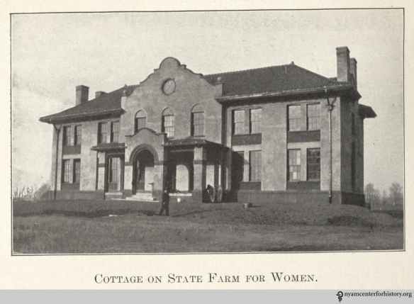 """Cottage on State Farm for Women.""  In ""The Modern Way,"" 1913, page 14."