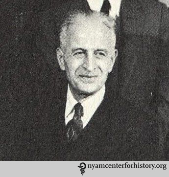 Constantin P. Yaglou. From the Harvard School of Public Health 1955 yearbook.