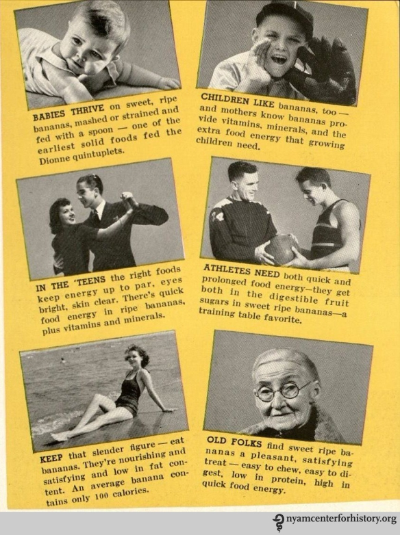 """From """"Bananas...How to Serve Them,"""" 1941."""