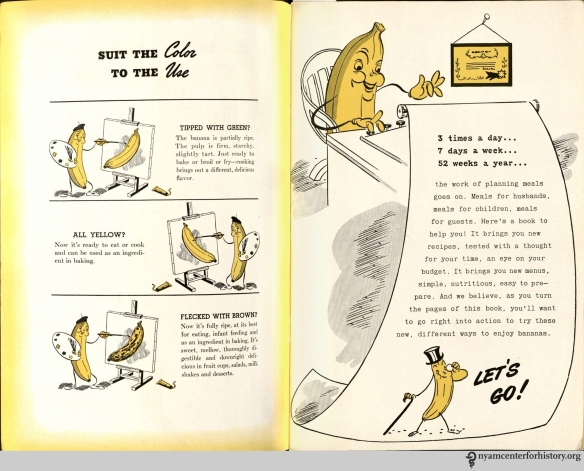 "From ""Bananas...How to Serve Them,"" 1941."