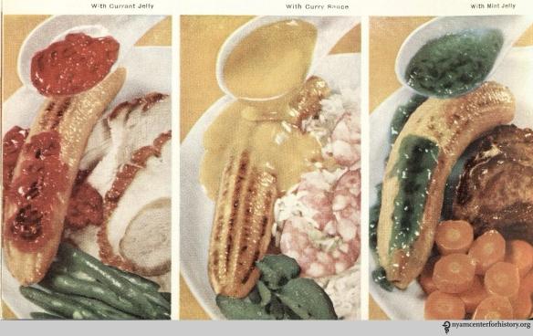"""From """"Chiquita Banana's Cookbook,"""" 1960."""