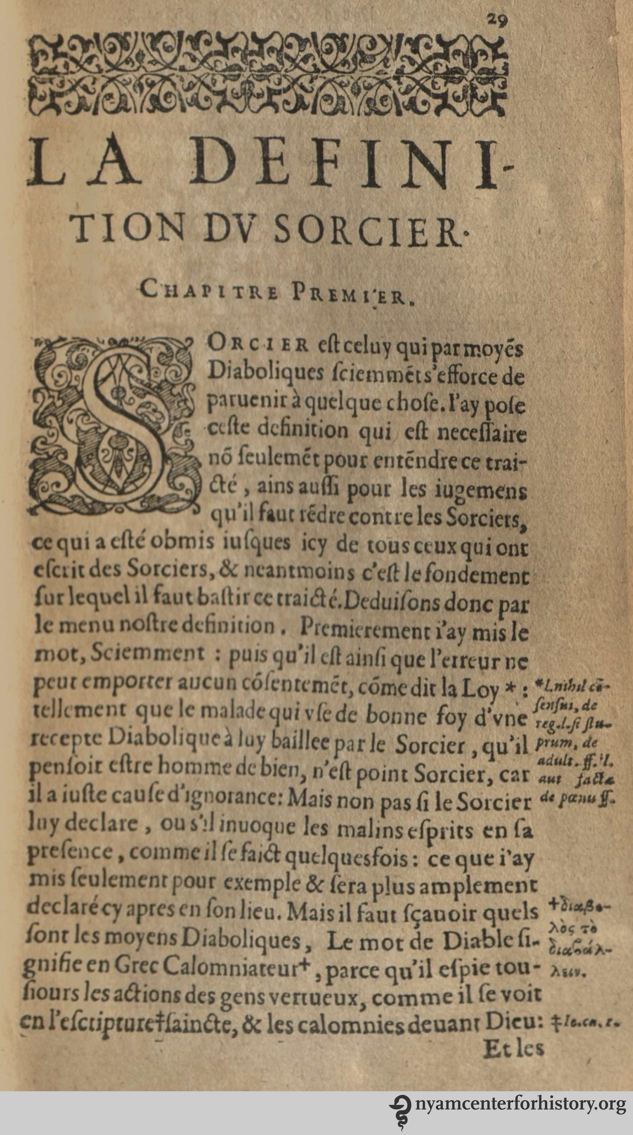 Demonomanie des Sorciers   Books, Health and History