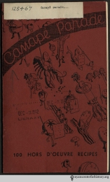 Personality-filled hors d'oeuvres from Canapé Parade: 100 Hors d'Oeuvre Recipes, 1932. Read more.