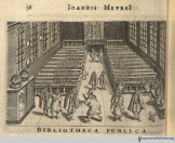 A great group costume: dress as patrons of Leiden's public library circa 1625. In Maursius, Athenae batavae.