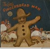One for the kids! An undated Little Gingerbread Man from the Royal Baking Powder Company.