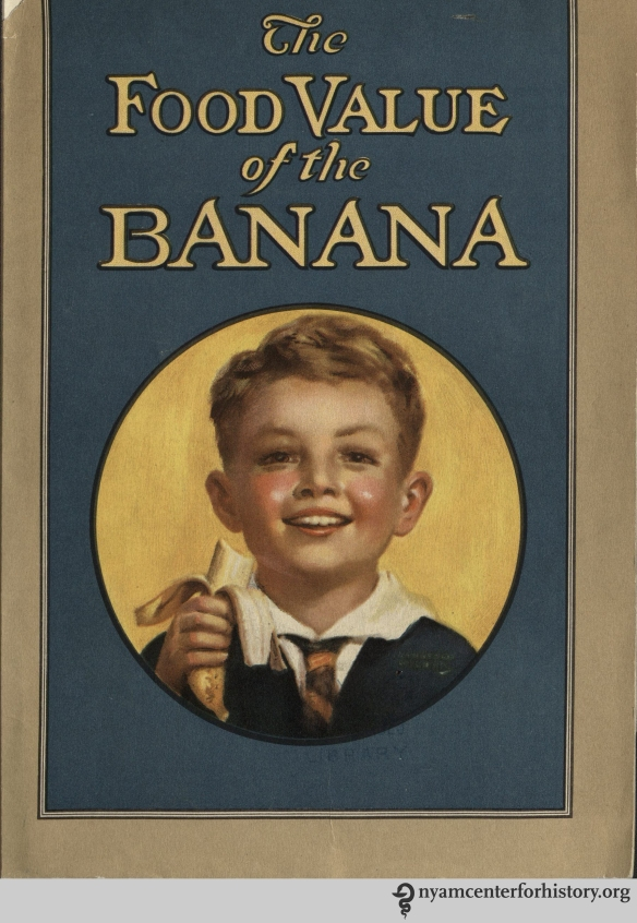 """The Food Value of the Banana,"" 1928."
