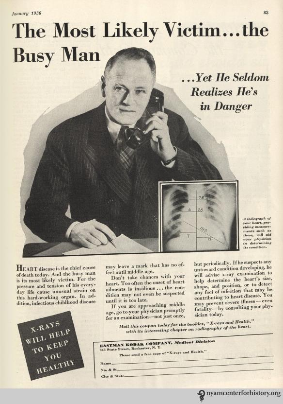 Eastman Kodak ad inHygeia Magazine, January 1936. Click to enlarge.