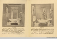 Pages 12-13, The Evolution of the Bath Room, circa 1912.
