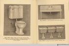 Pages 18-19, The Evolution of the Bath Room, circa 1912.