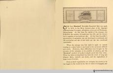Page 1, The Evolution of the Bath Room, circa 1912.