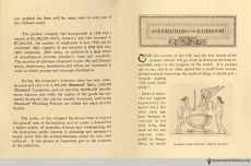 Pages 2-3, The Evolution of the Bath Room, circa 1912.