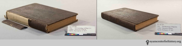 Before and after, The Physiology of Digestion, Beaumont, William. Vermont, 1847.