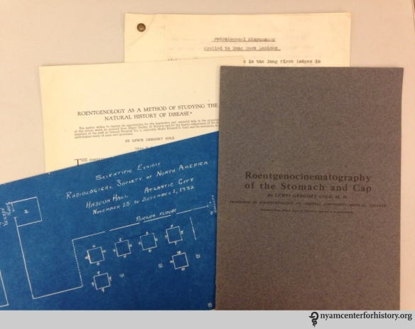Scientific papers in the Cole archive.