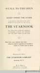 Title page, The Starnook.